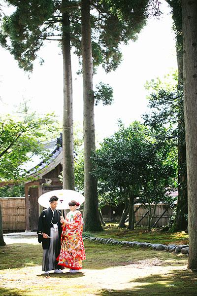 婚礼前撮り